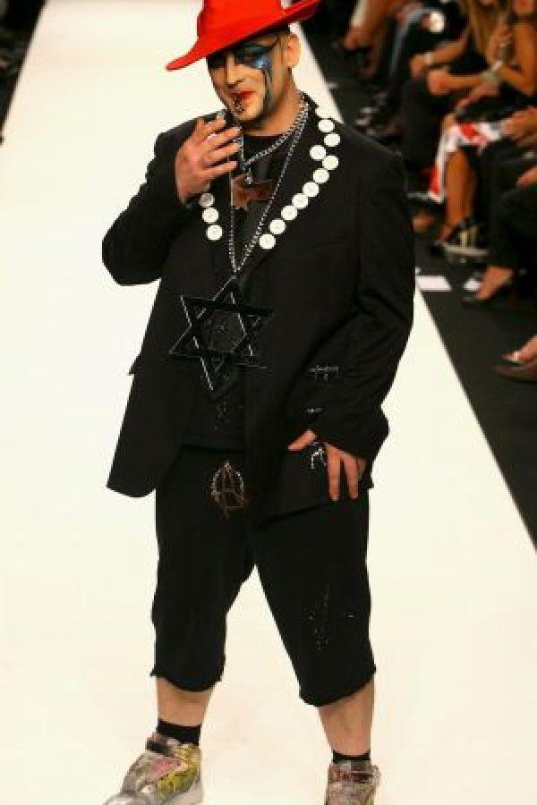 """El vocalista de """"Culture Club"""" cumplió 54 años el 14 de junio. Foto:Getty Images"""
