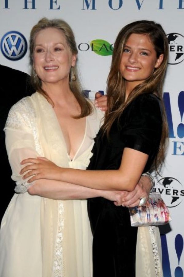Louisa Jacobson Gummer, hija de Meryl Streep. Foto:Getty Images