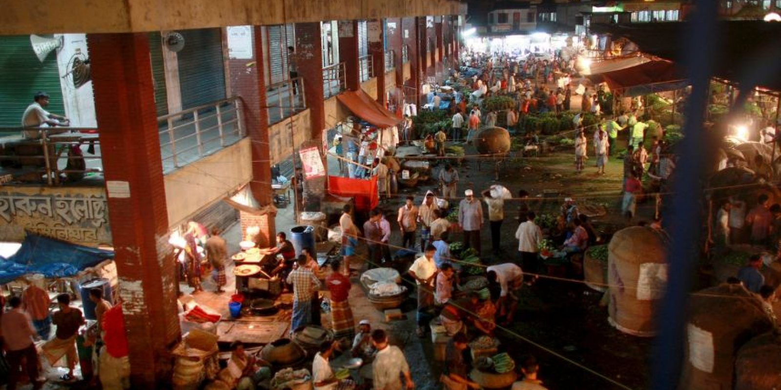 2. Dhaka, en Bangladesh Foto:Getty Images