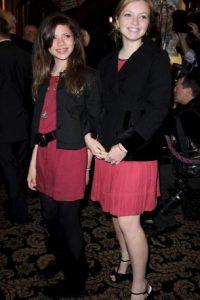 Francesca y su hermana Morgan Eastwood Foto:Getty Images