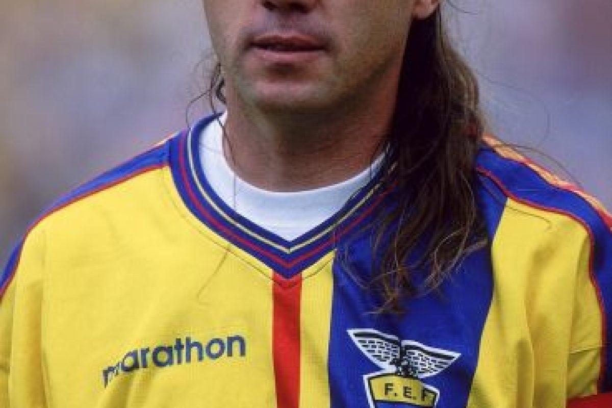 Con su selección, el histórico mediocampista jugó ocho Copas América (1987, 1989, 1991, 1993, 1995, 1999, 2001 y 2004) y sólo destacaron en el torneo que se realizó en su país en 1993, en el cual alcanzaron las semifinales. Foto:Getty Images