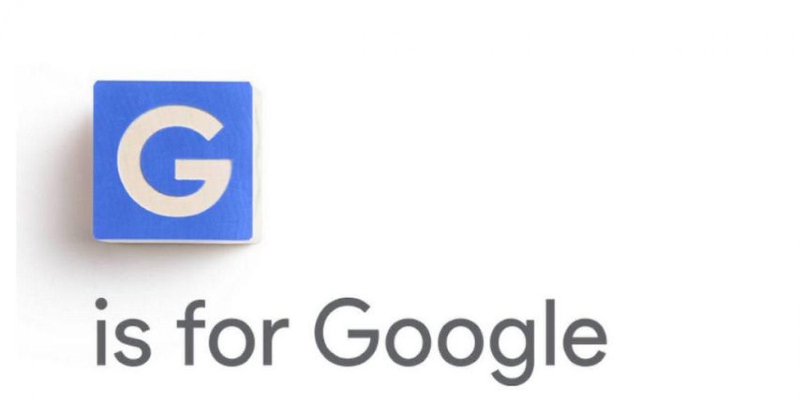 La nueva imagen corporativa tendrá el nombre de Alphabet Foto:Google