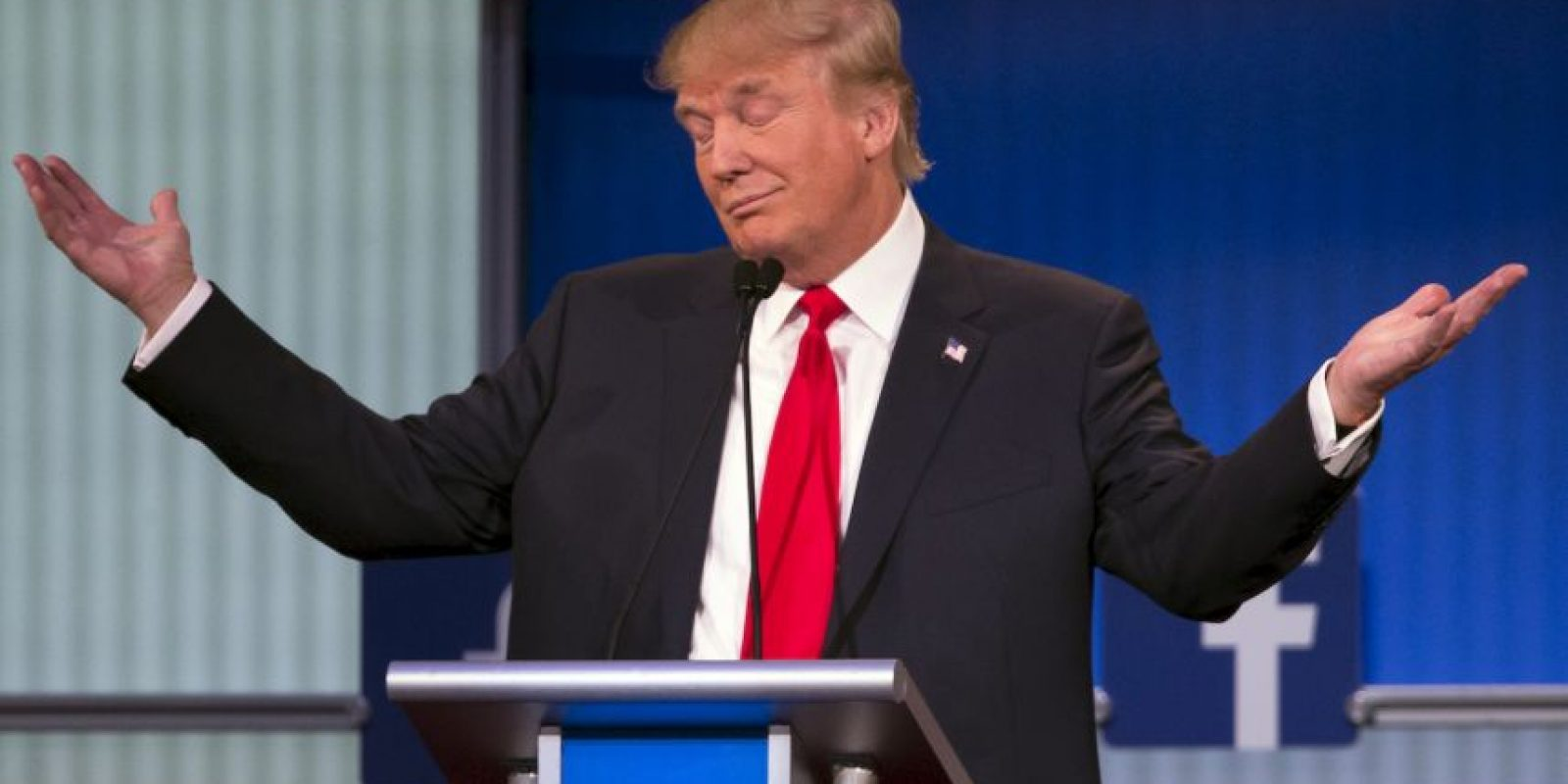 Donald Trump fue el centro de atención del evento por sus controversiales expresiones. Foto:Getty Images