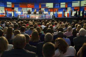 Estos fueron: Rick Perry, Rick Santorum, Bobby Jindal, Carly Fiorina, Lindsey Graham, George Pataki y Jim Gilmore. Foto:Getty Images