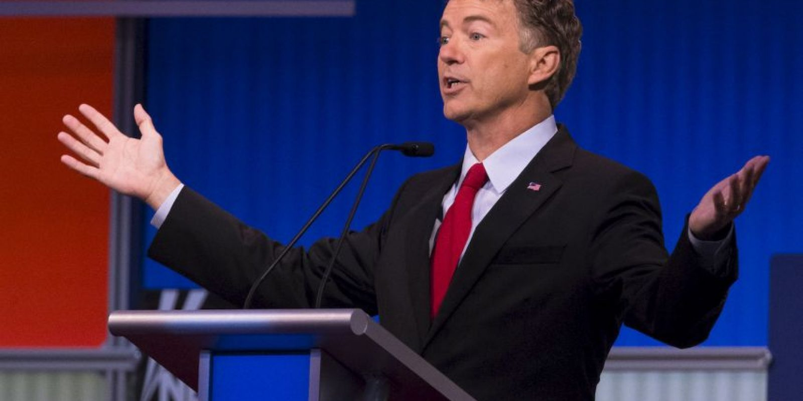 Horas antes se realizó un debate con los siete precandidatos que tienen menos ventaja en las encuestas. Foto:Getty Images