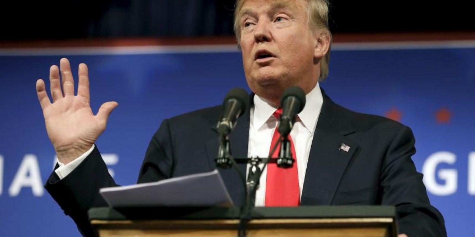 """""""Respeto a México, es grande como país. El problema que tenemos es que sus líderes son más inteligentes que los nuestros"""", dije ayer a CNN Foto:Getty Images"""