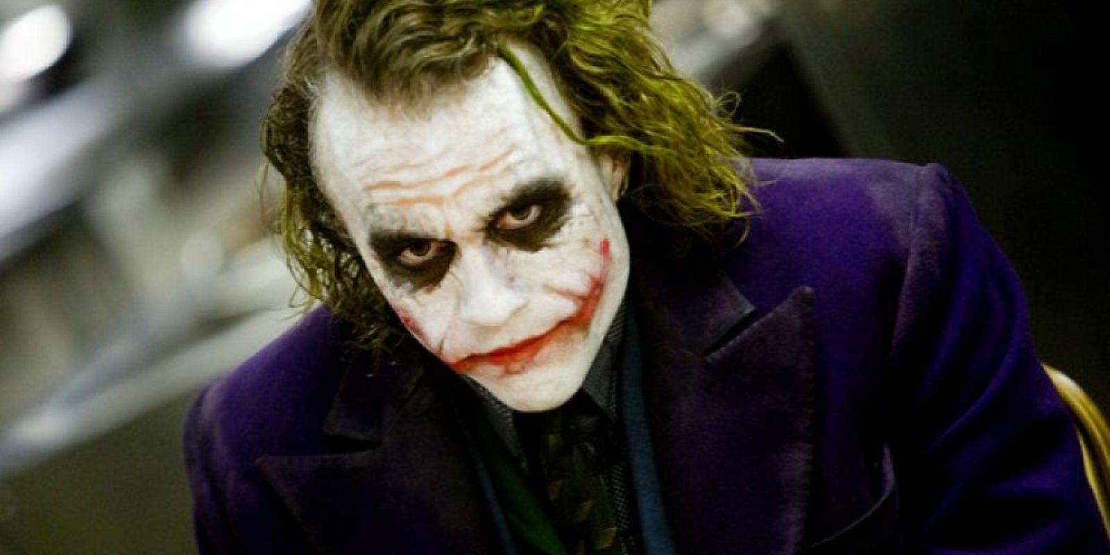 """""""Era muy importante para el personaje encontrar una voz y una risa adecuadas"""", indicó Ledger en dicha entrevista. Foto:IMDB"""