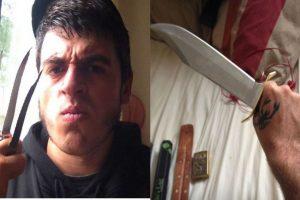 Jed Allen es buscado por el asesinato de tres personas, incluida una niña de seis años Foto:instagram.com/mr_meat_tank/
