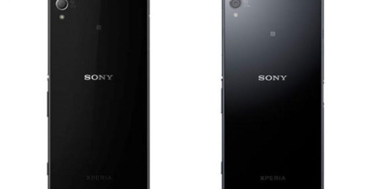 La parte posterior del dispositivo. Foto:Sony