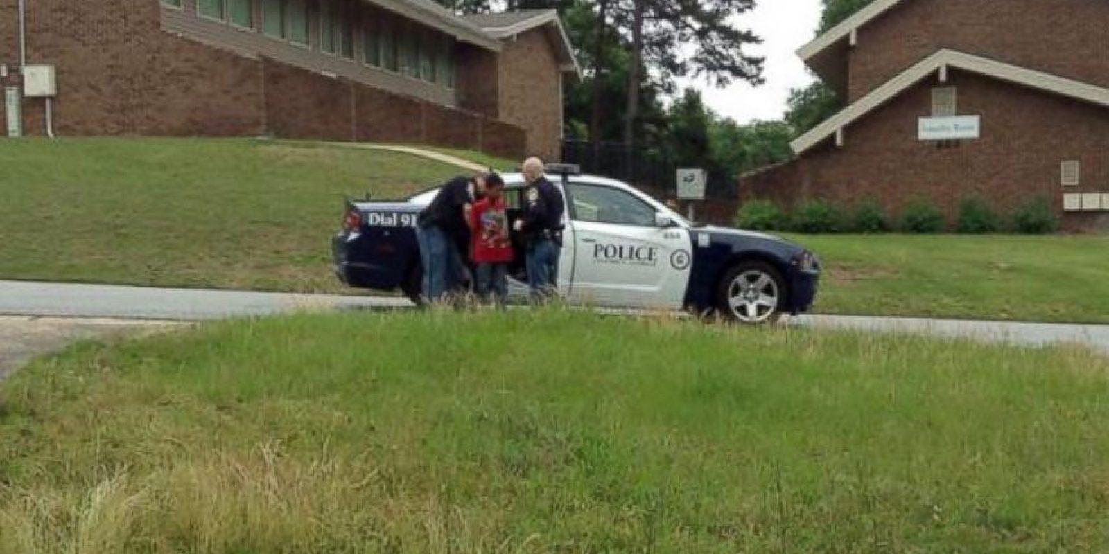 Sean fue subido a una patrulla y minutos después fue liberado Foto:Vía Facebook Chiquita Hill