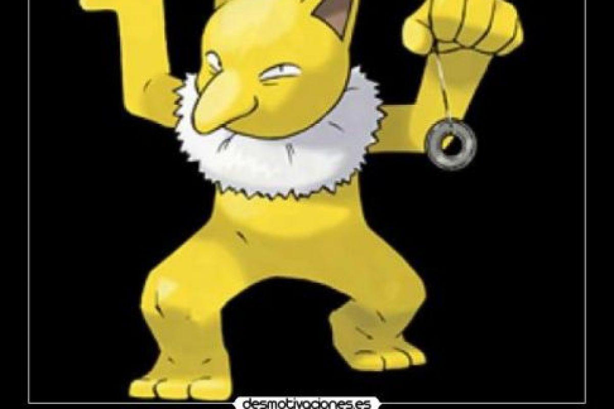 """""""Hypno"""" es conocido como un Pokemon pedófilo, pues aprovecha sus poderes hipnoticos para secuestrar a los niños Foto:desmotivaciones.es"""