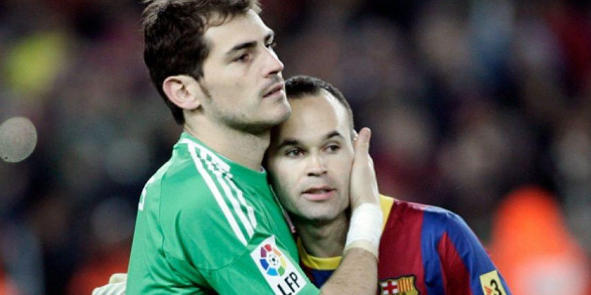 Cracks del Barcelona le dedican emotivos mensajes a Iker Casillas