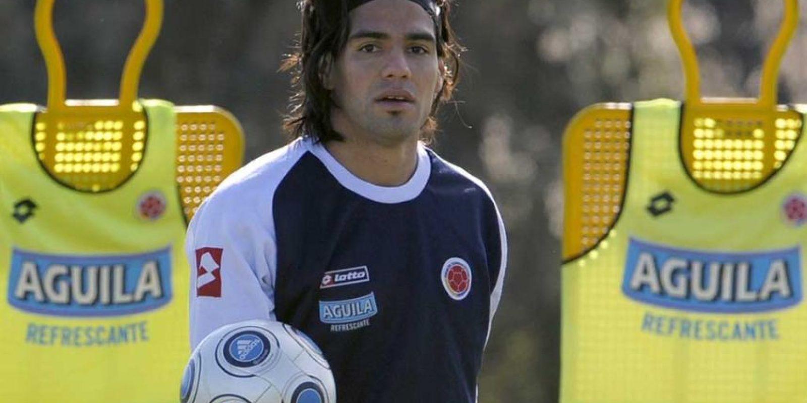 En los entrenamientos de la Selección Colombia Foto:AFP