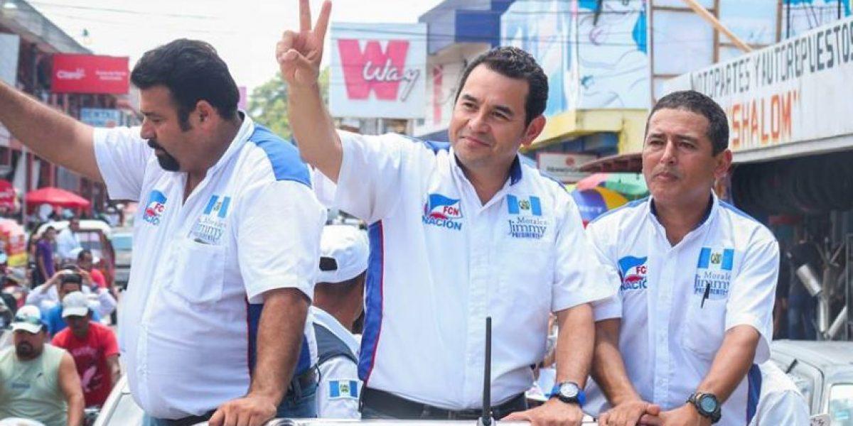 Denuncian al candidato a presidente, Jimmy Morales