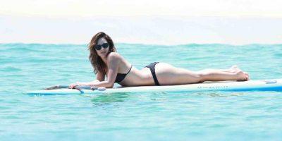 FOTOS. Katharine McPhee arranca suspiros en México con su sexy bikini