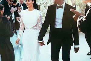 """La ceremonia inició a las seis de la tarde, según lo indicó la revista """"Vogue"""" Foto:vía instagram.com/kimkardashian"""