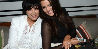 Kris Jenner junto a su hija Khloé Foto:Getty Images