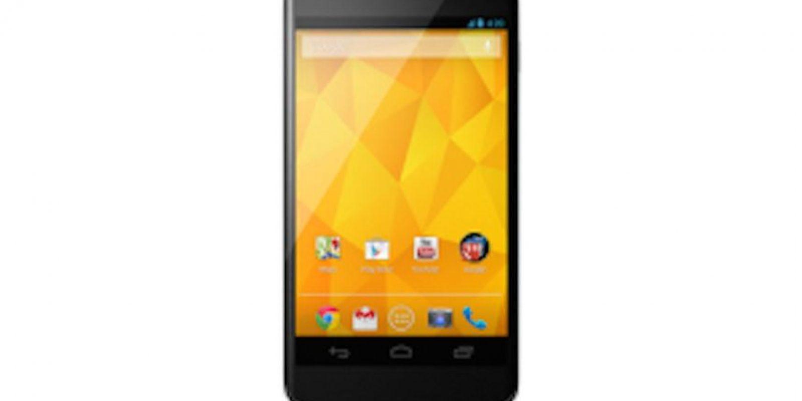 Nexus 4. Desde 109 dólares. No se dejen engañar por el precio, este móvil ha llegado a estar entre los teléfonos de gama alta Foto:Nexus