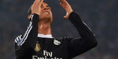 """Cristiano lleva 314 goles con el Real Madrid, pero ninguno de ellos ha sido de """"chilena"""", aunque lo ha intentado. Con Portugal tampoco ha podido, en 2011, parecía que lo logró, pero el árbitro le anuló el gol cuando estaba celebrando. Foto:Getty Images"""