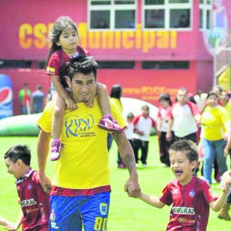 Marco Tulio Ciani, futbolista Foto:Cortesía