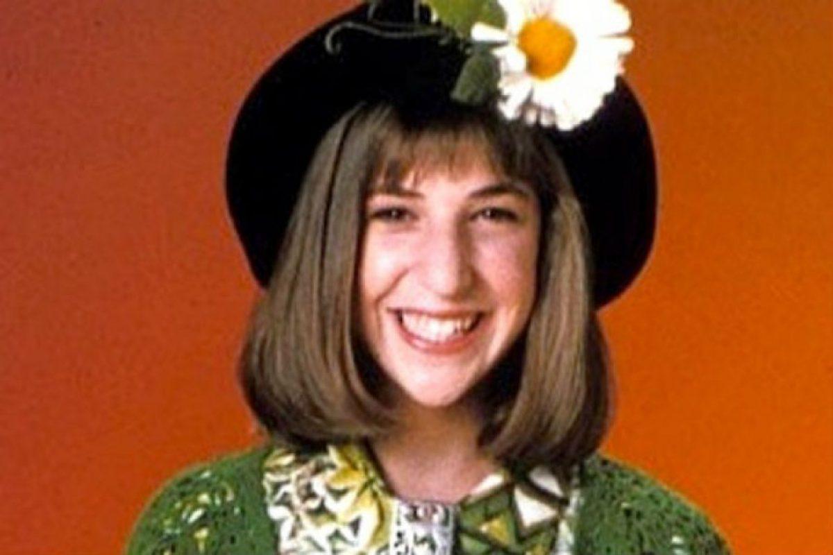 """11. Mayim Bialik se hizo conocida por """"Blossom"""". Foto:vía NBC"""