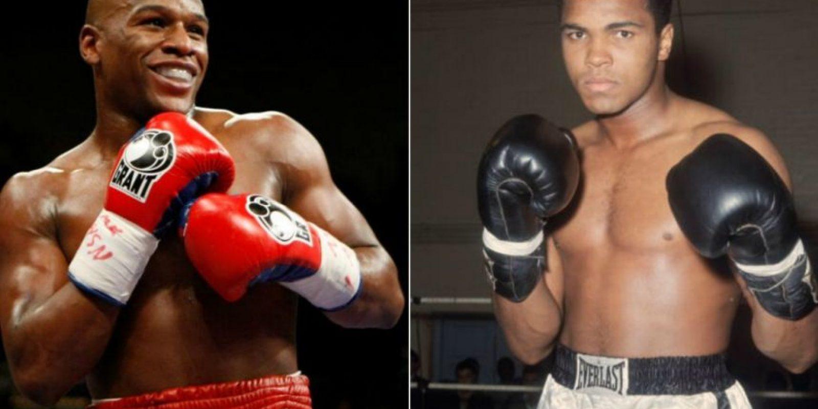 """El polémico """"Money"""" confesó que no cree que Muhammad Ali haya sido mejor boxeador que él. Foto:Getty Images"""
