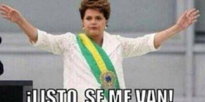 Dilma Rousseff, presidenta de Brasil Foto:Twitter-Archivo
