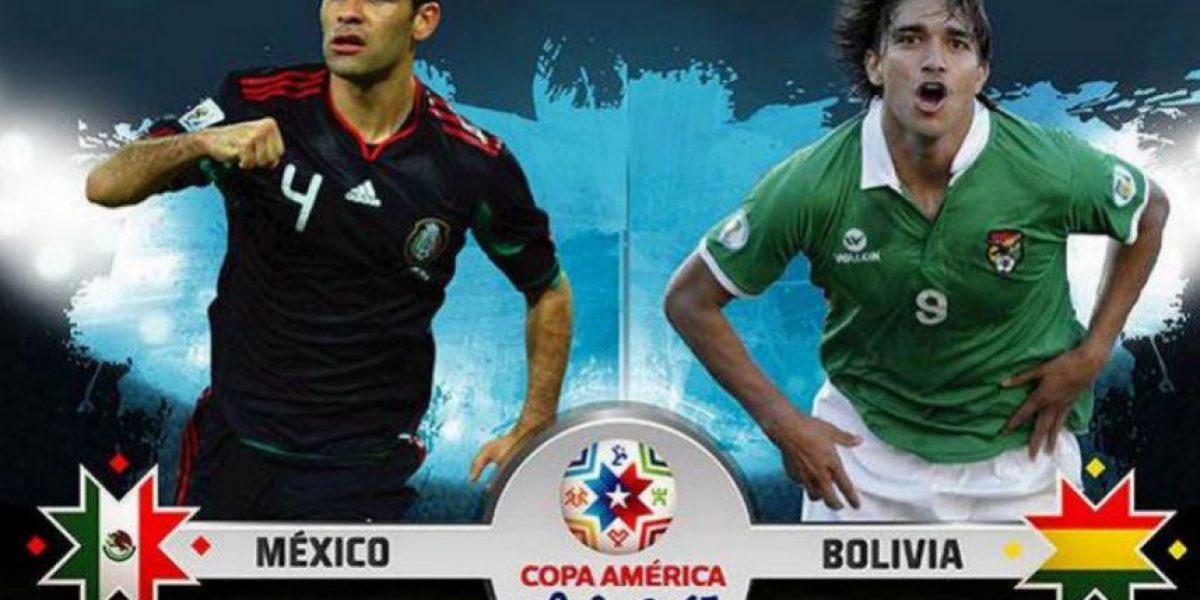 México vs. Bolivia: Estos son los 22 guerreros que saltan a la cancha