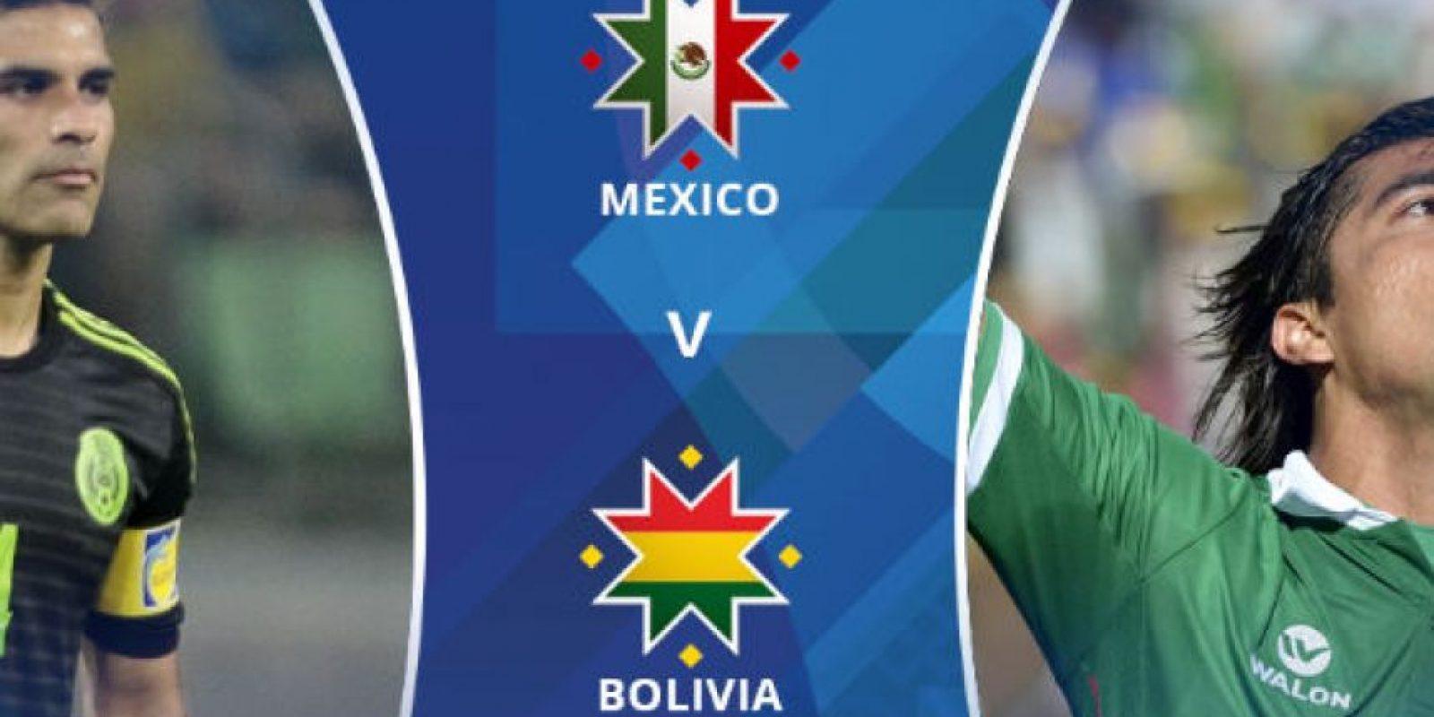 "El ""Tri"" nunca ha vencido a Bolivia en la Copa Foto:Copa América"