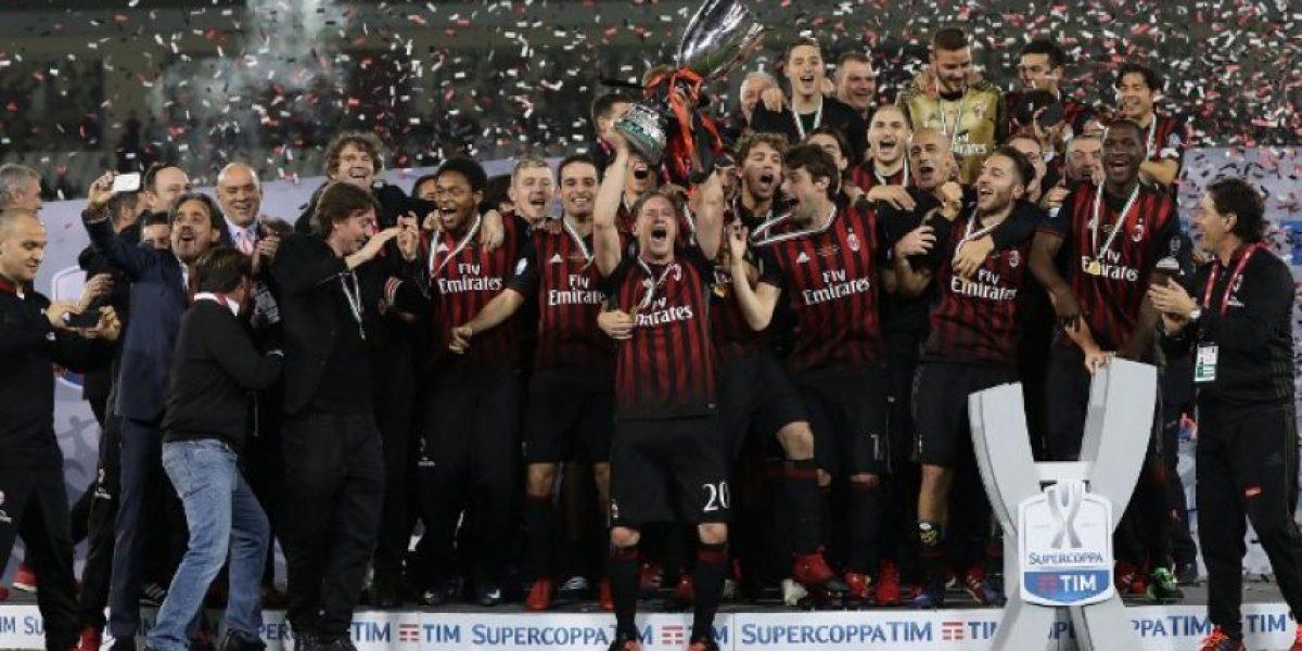 AC Milan rompe su sequía de títulos con la Supercopa de Italia 2016
