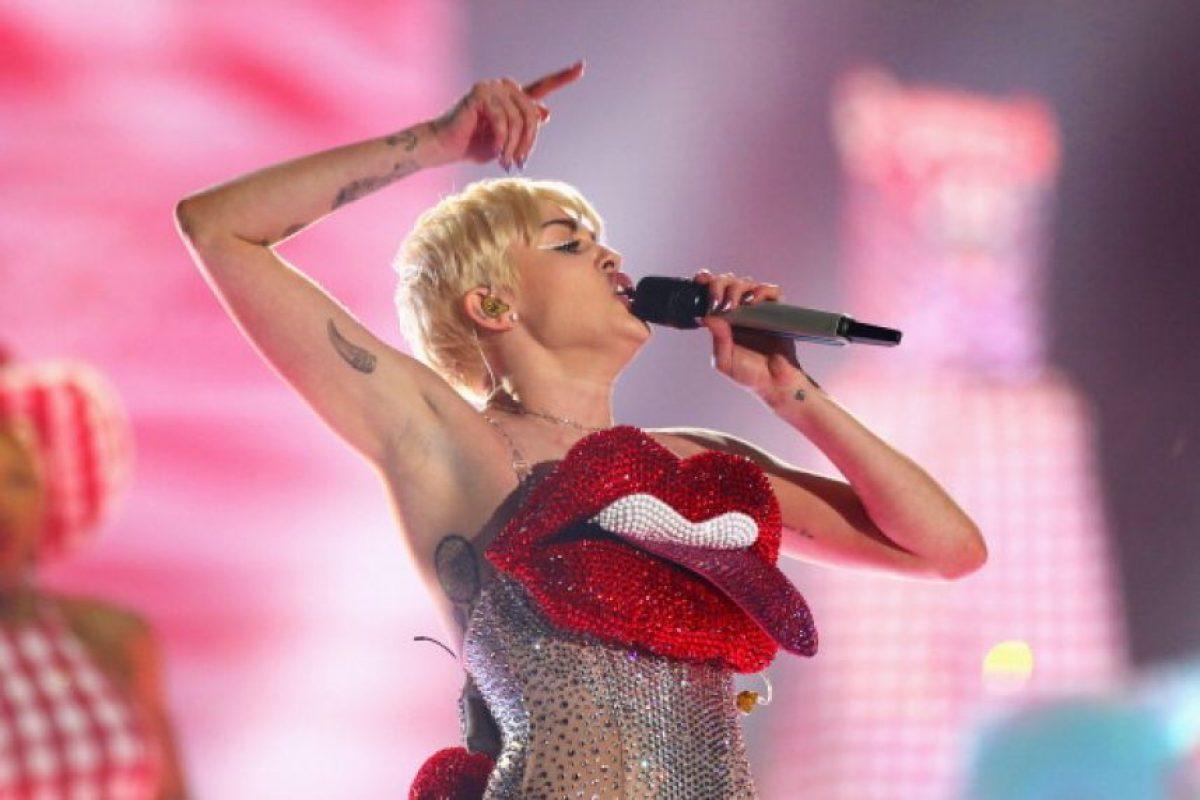 Miley Cyrus. Nació el 23 de noviembre de 1992 en Tennessee, Estados Unidos. Foto:Getty Images