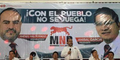 Movimiento Nueva República presenta binomio presidencial