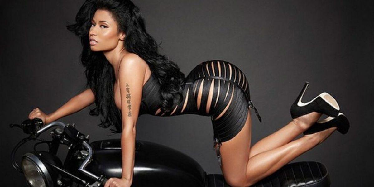 FOTOS. Por error, esta parte íntima enseñó Nicki Minaj durante concierto