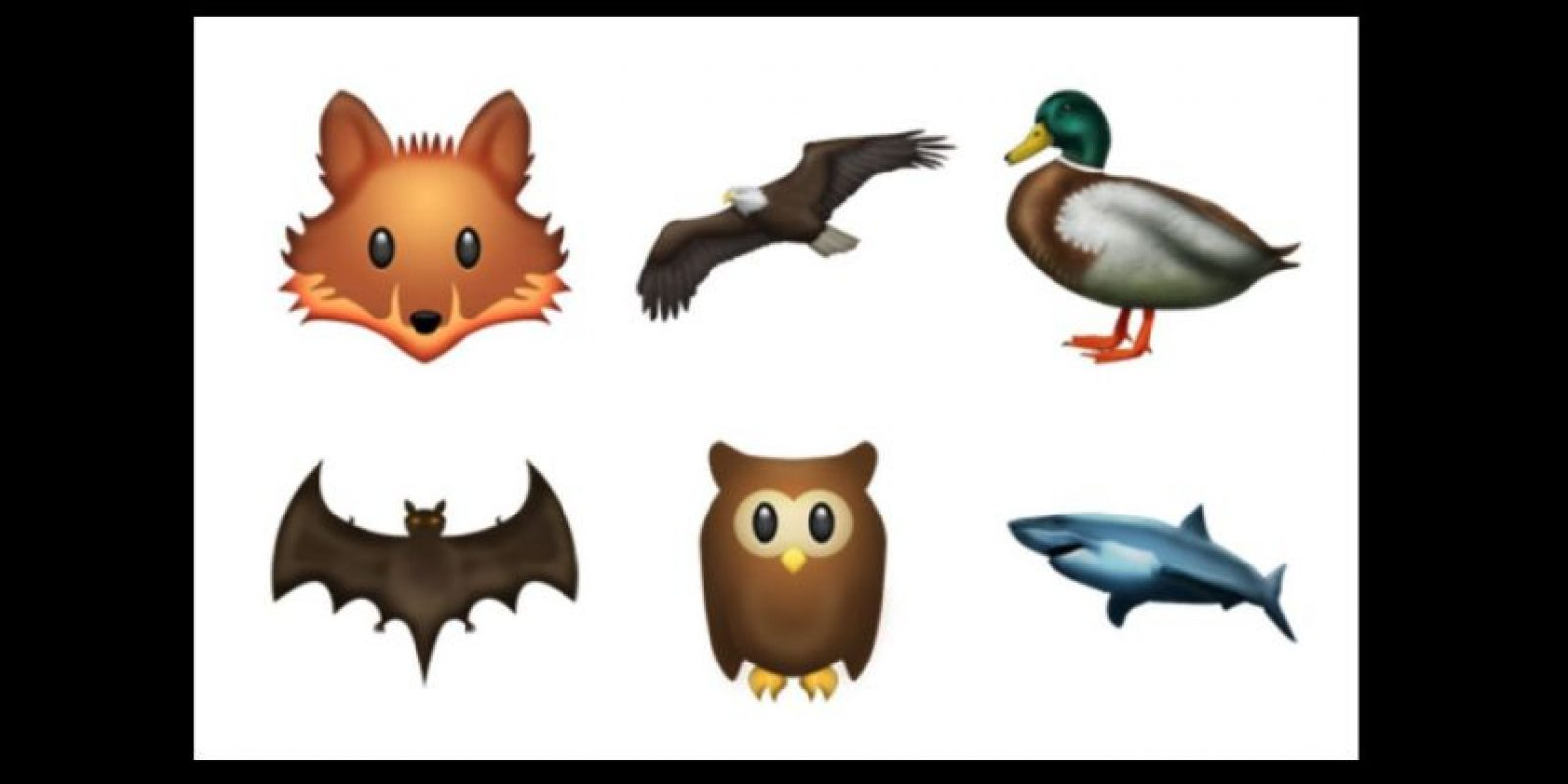 Nuevos animales Foto:Emojipedia