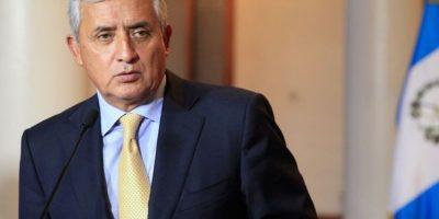 Pérez Molina presentó amparo en la Corte de Constitucionalidad