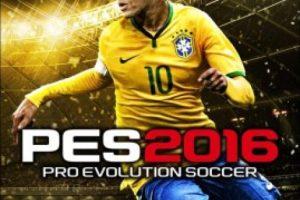 """""""PES 2016"""" con el brasileño Neymar. Foto:Konami"""