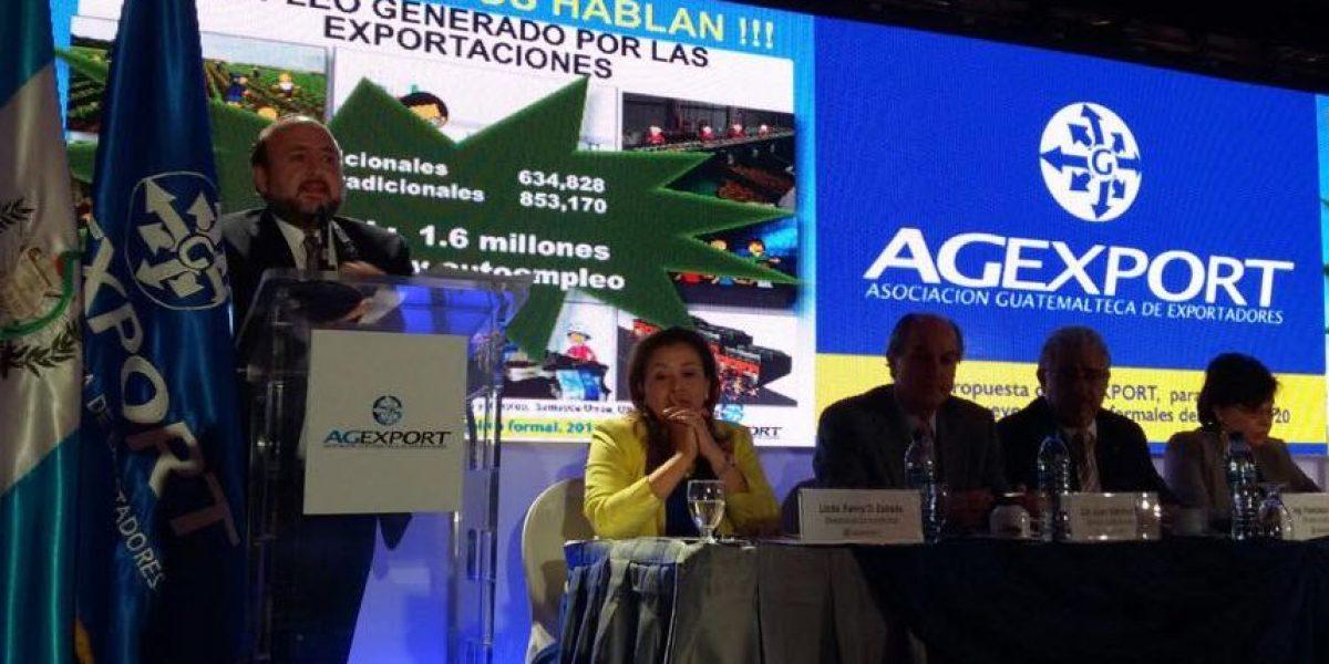 Agexport propone generar un millón de puestos de trabajo
