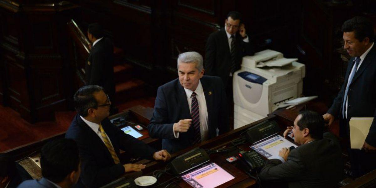 Congreso discutirá este jueves detalles sobre la comisión que investigará a Otto Pérez