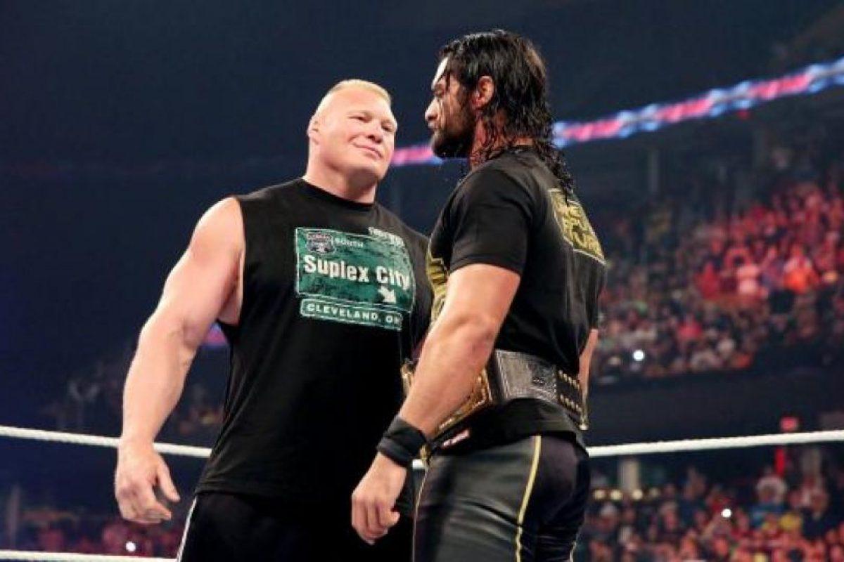 """La Bestia"" intimidó al monarca Foto:WWE"