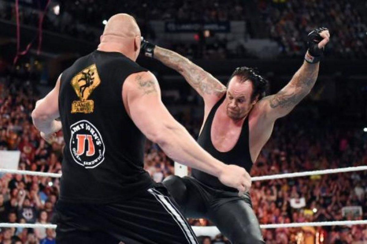 """4. """"Taker"""" tiene el máximo número de victorias: nueve Foto:WWE"""