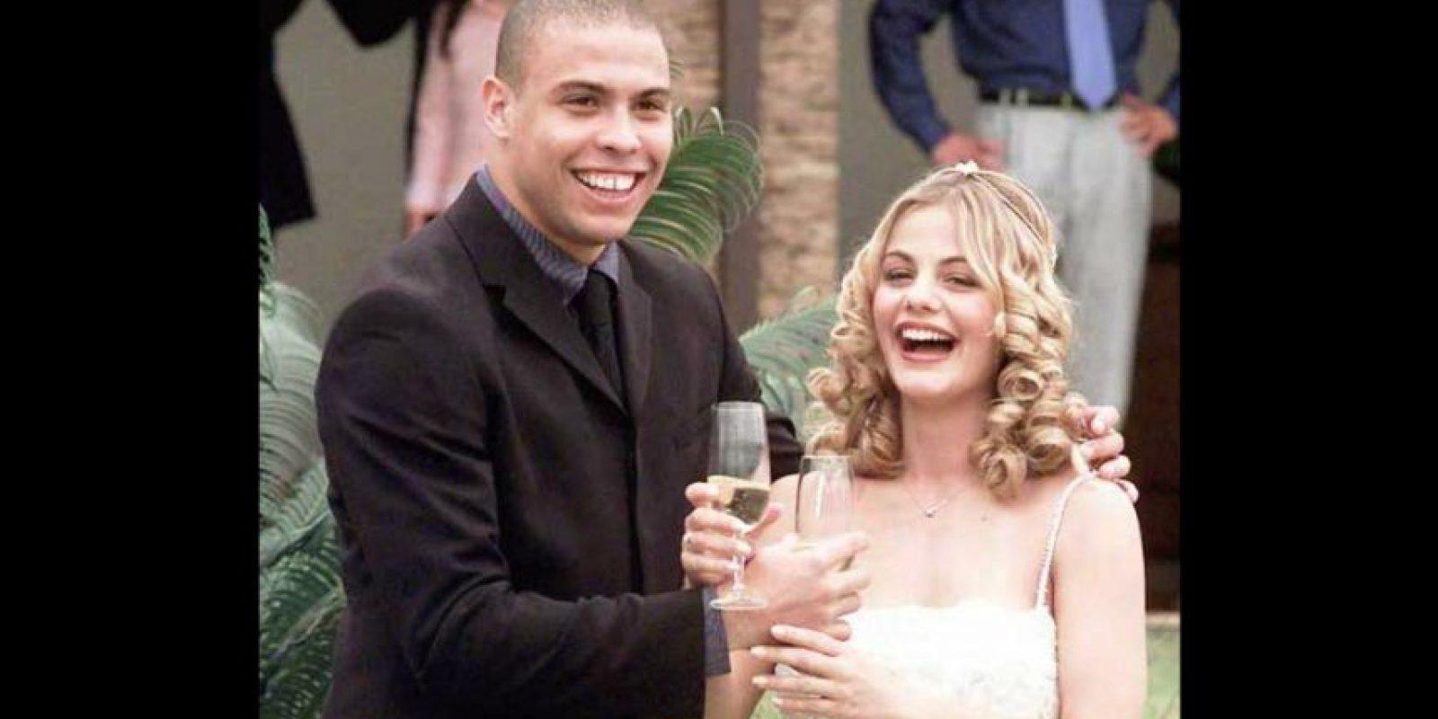 Su primera esposa, Milene Domingues lo engañó con Clarence Seedorf. Foto:AFP