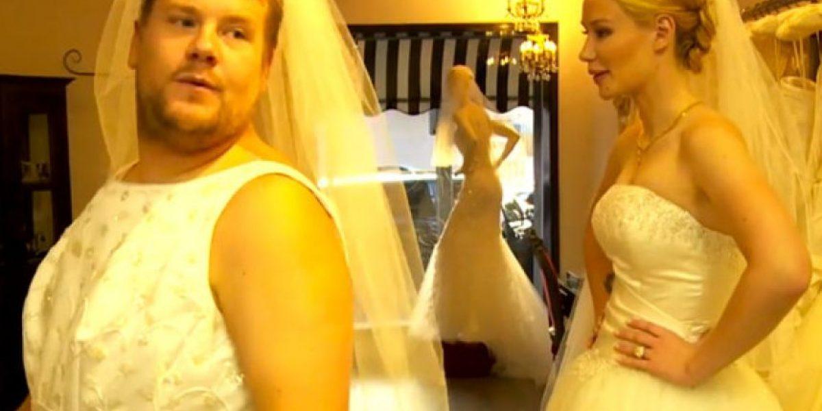 Iggy Azalea lució su vestido de novia en un programa de televisión