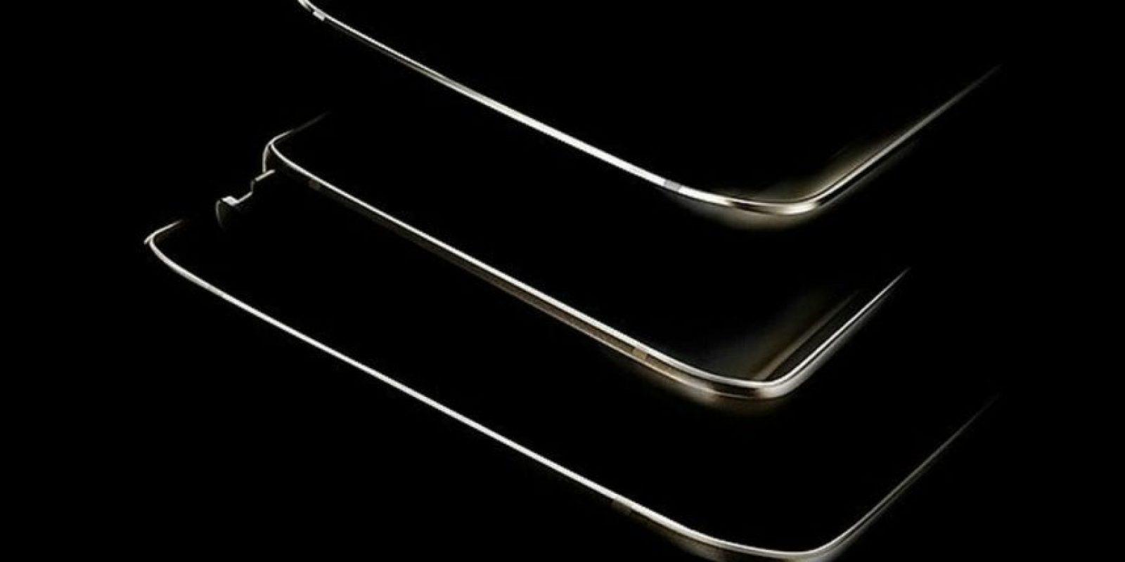 La imagen que hace suponer la presentación de tres dispositivos. Foto:Samsung