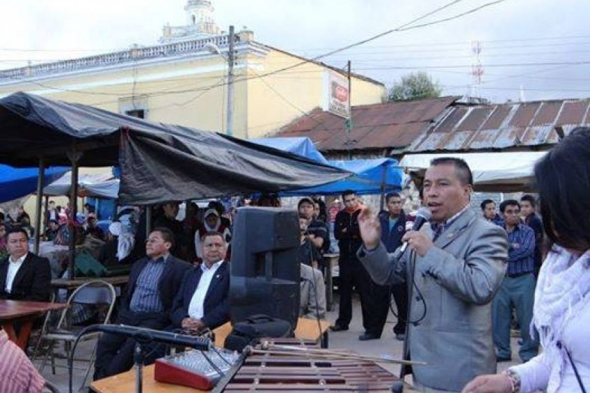 Santiago Pelicó Foto:Agencias