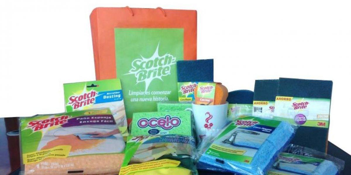 GANADORES. Kits de limpieza de Home Care 3M