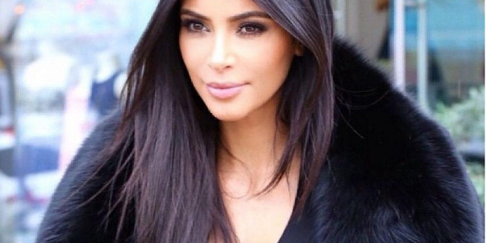 Actualmente está casada con el rapero Kanye West. Foto:Vía Instagram.com/kimkardashian