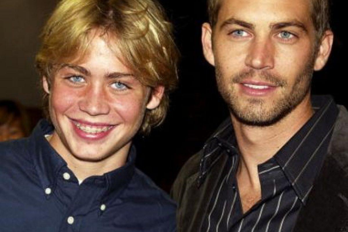 """En los 80 estuvo con su hermana Ashlie en un concurso para niños llamado """"Im Telling!"""". Esto ocurrió cuando Paul tenía 13. Aquí con Cody, en el lanzamiento de las primeras películas de """"Rápido y Furioso"""". Foto:vía Getty Images"""