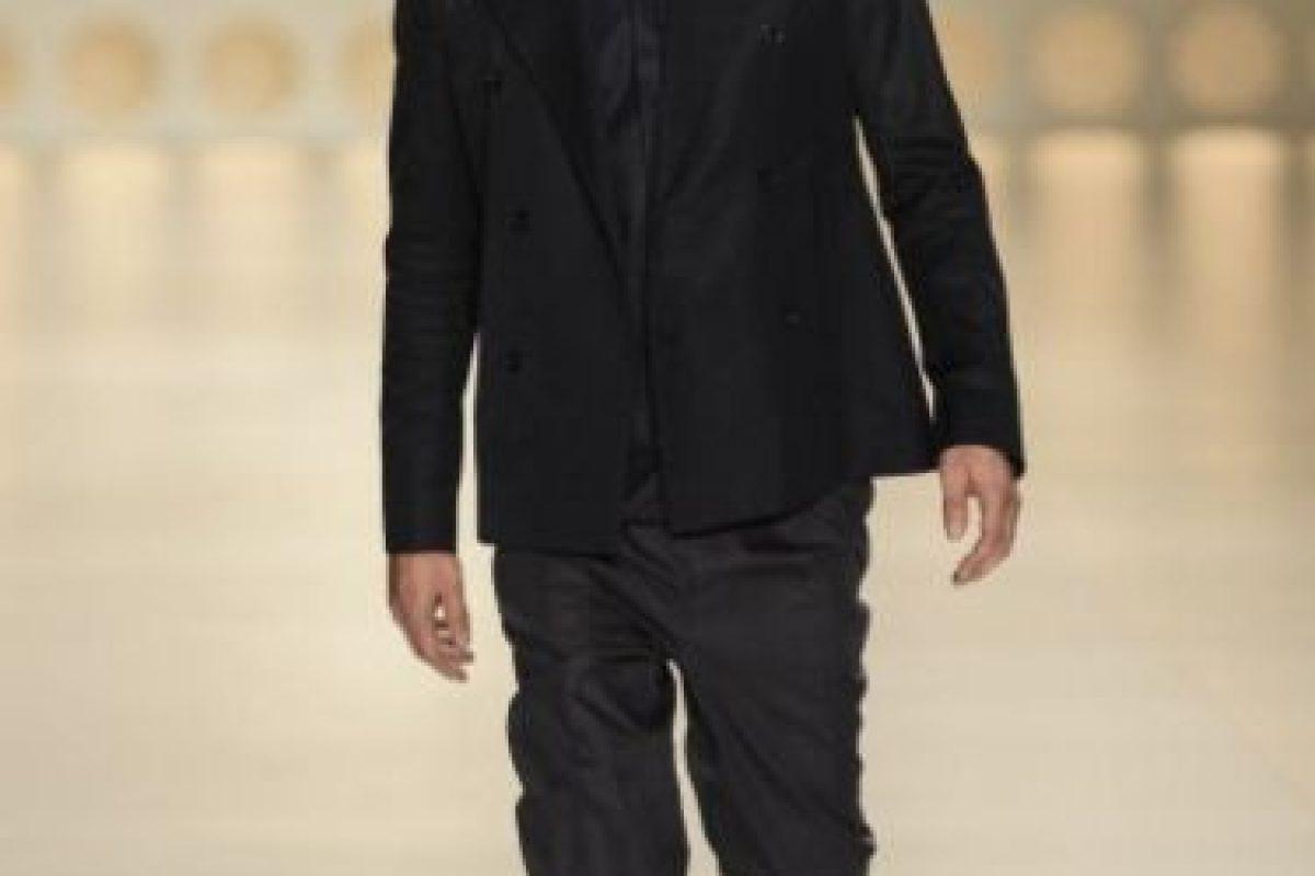 También modelaba. Aquí, en la Sao Paulo Fashion Week. Foto:vía Getty Images