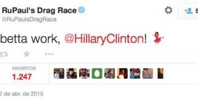 Ru Paul´s Drag Race Foto:Vía Twitter.com/RuPaulsDrag Race