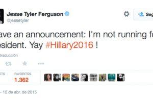 Jesse Tyler Ferguson Foto:Vía Twitter.com/jessetyler